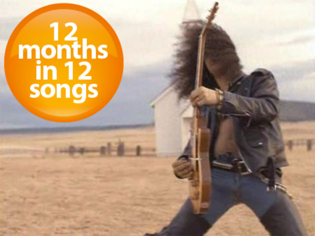Slash. A desert. An unplugged Les Paul. It can only be the November Rain video.