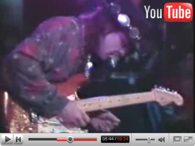SRV playing his masterpiece Lenny