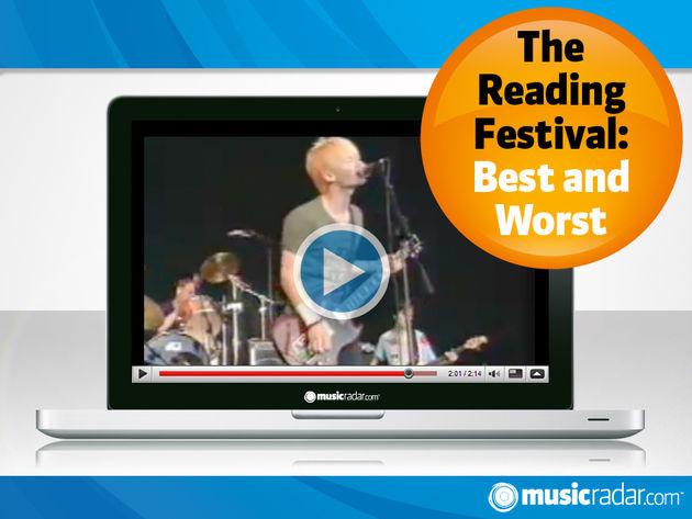 Radiohead rock Reading, 1994