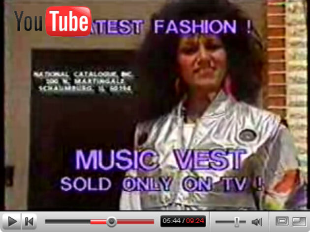 The Music Vest - sold only on TV