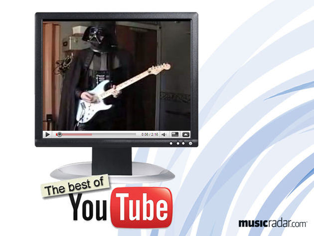 Darth Vader rocks out