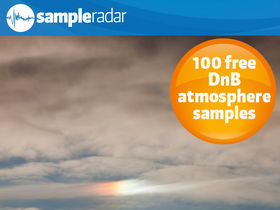 SampleRadar: 100 free drum'n'bass atmosphere samples