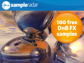 SampleRadar: 100 free drum 'n' bass FX samples