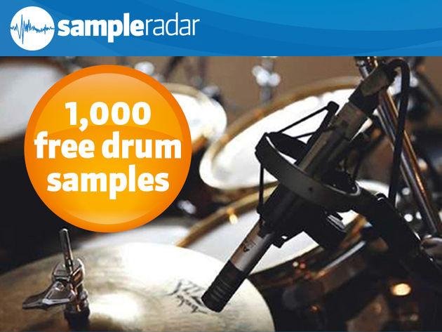 1,000 free drum samples
