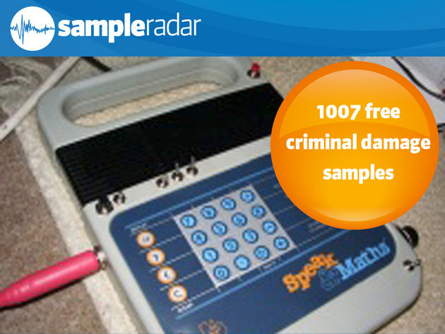 1,007 free criminal damage samples