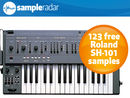 SampleRadar: 123 free Roland SH-101 synth samples