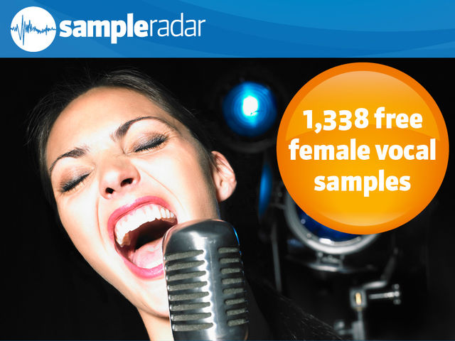 1,338 free female vocal samples