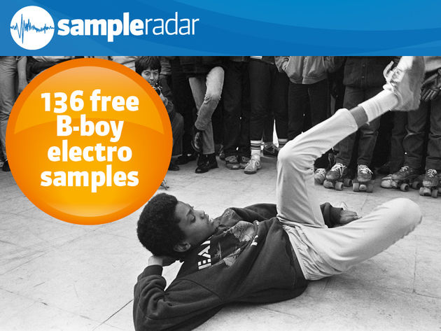 136 free B-boy electro samples