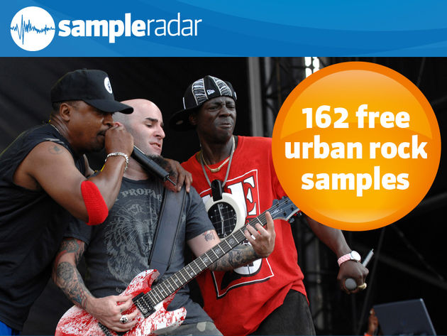 162 free urban rock samples