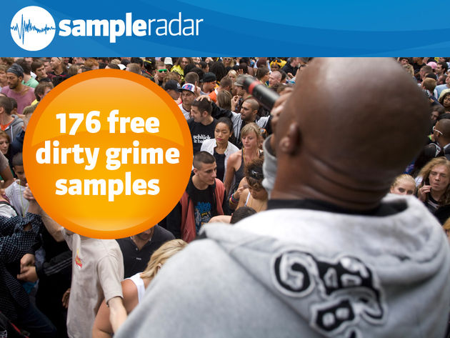 176 free dirty grime samples