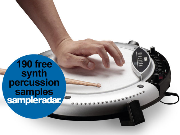 190 free electronic percussion samples