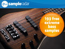 SampleRadar: 193 free extreme bass samples