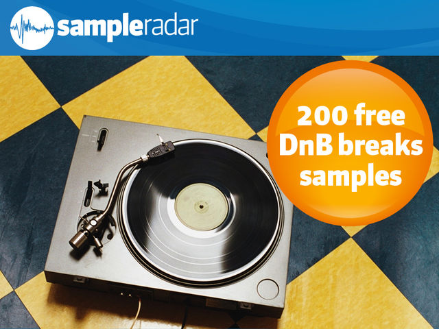 200 free drum 'n' bass breaks samples