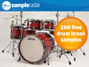 SampleRadar: 200 free drum break samples