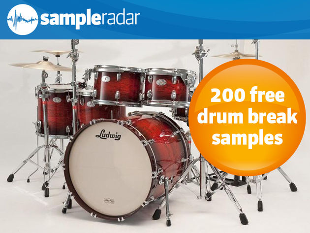 200 free drum break samples