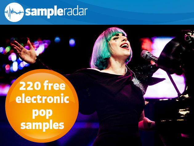 220 free electronic pop samples