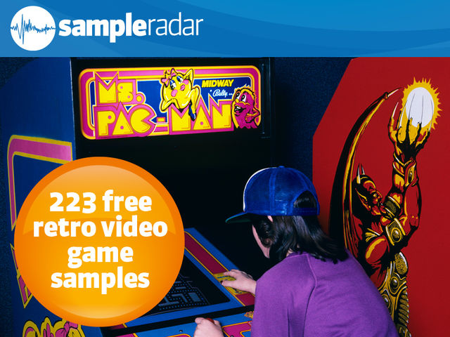 223 free retro video game samples