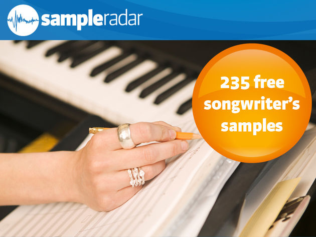 235 samples gratuits de songwriter