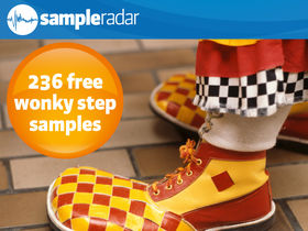 SampleRadar: 236 free wonky step samples