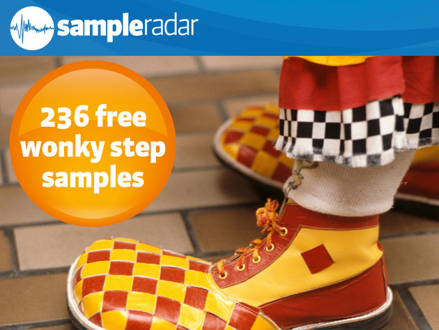 236 free wonky step samples