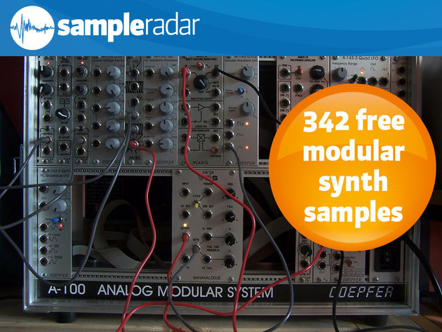 250 free modular synth samples