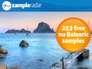 SampleRadar: 253 free nu Balearic samples