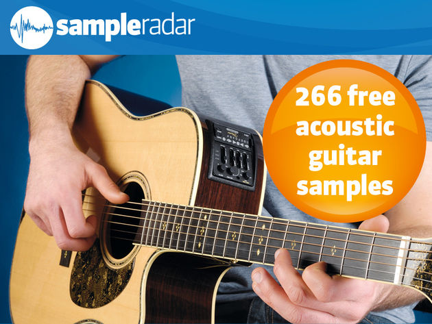 266 free acoustic guitar samples