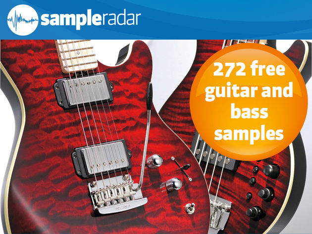 272 free guitar and bass samples