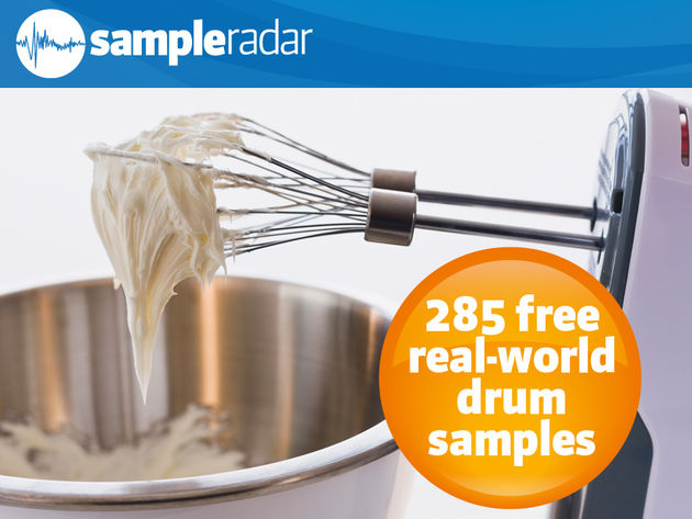 285 free real-world drum samples