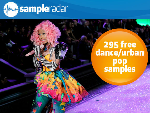 295 samples gratuits dance/urban pop