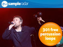 SampleRadar: 301 free percussion loops