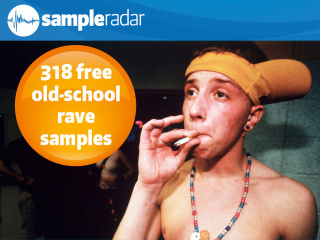 318 free old-school rave samples
