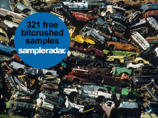 321 free bitcrushed samples