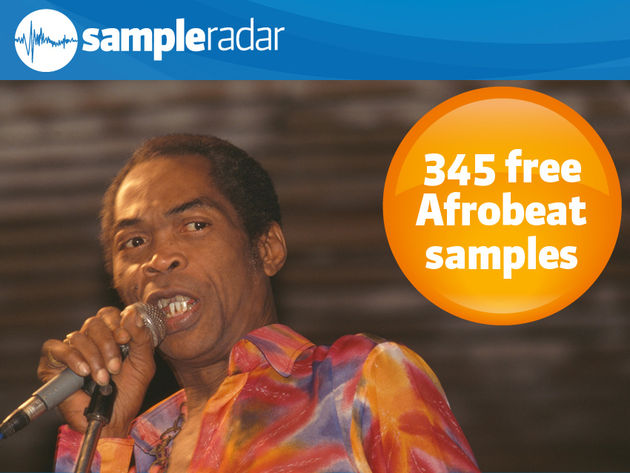 345 samples Afrobeat gratuits