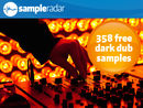 SampleRadar: 358 free dark dub samples
