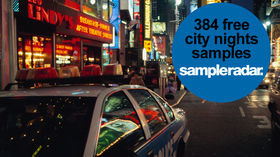 SampleRadar: 384 free city nights samples