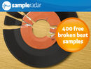 SampleRadar: 400 free broken beat samples
