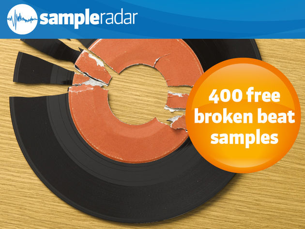 400 free broken beat samples
