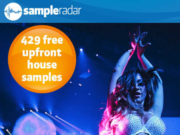 429 free upfront house percussion samples