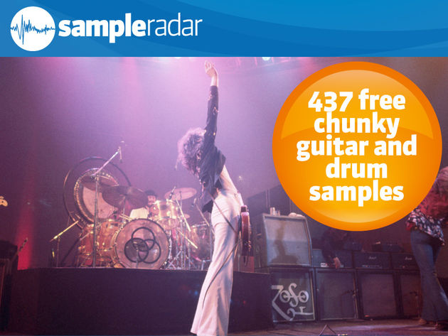 437 samples gratuits et consistants de guitare et de batterie