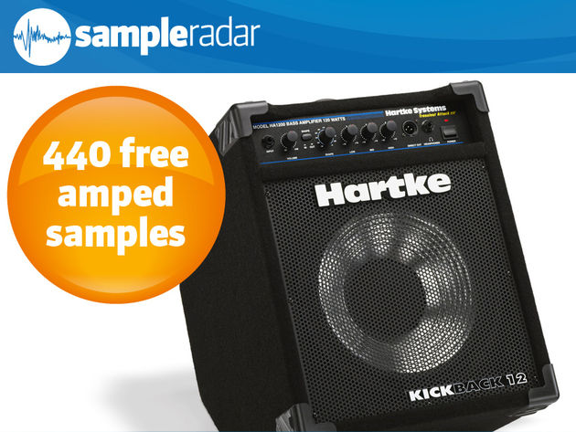 The drum samples were sent through a Hartke Kickback amp.