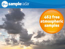 SampleRadar: 462 free atmospheric samples