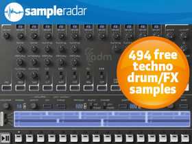 SampleRadar: 494 free techno drum and FX samples