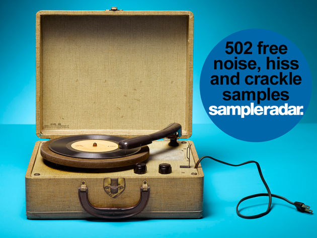 502 free noise, hiss and crackle samples