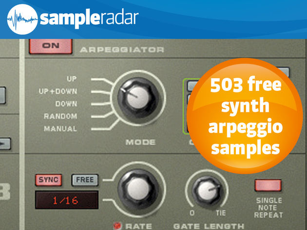 503 free synth arpeggio samples