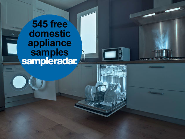 545 free domestic appliance samples