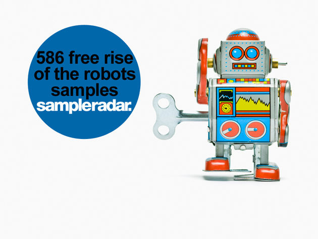 586 free rise of the robots samples
