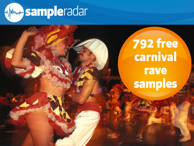 792 samples gratuits de rave party