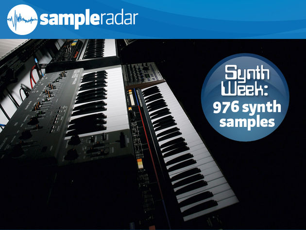 976 free classic synth samples