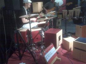 Cube drum kit